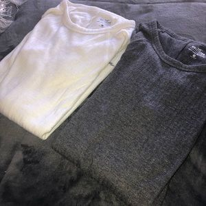 Hollister tunic length tops